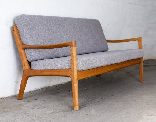 'Senator' Teak Sofa by Ole Wanscher for France & Son