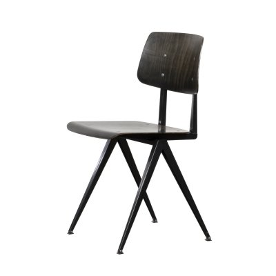 Vintage Galvanitas S16 chair in ebony plywood