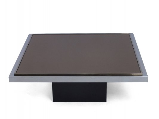 Belgo Chrom coffee table, 1970s