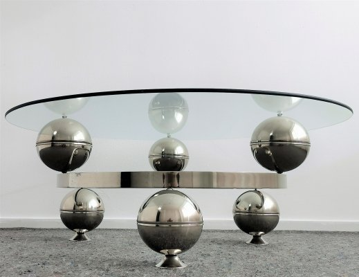 Atomic Design Coffee Table, 1970's