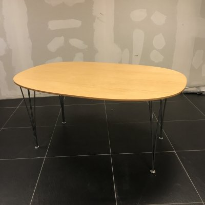 Super Ellipse dining table by Bruno Mathsson & Piet Hein for Fritz Hansen, 1990s