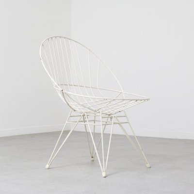 'Combex' wire lounge chair by Cees Braakman for Pastoe, NL 1950s