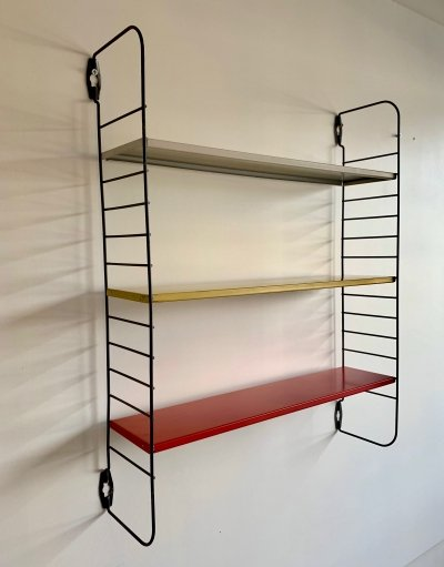 4 x Pocket rack wall unit by D. Dekker for Tomado, 1970s