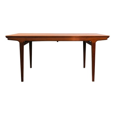 Vintage Danish design Johannes Andersen teak dining table