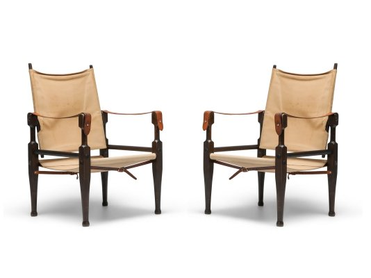 Safari Chairs by Kaare Klint for Rud Rasmussen, 1960s