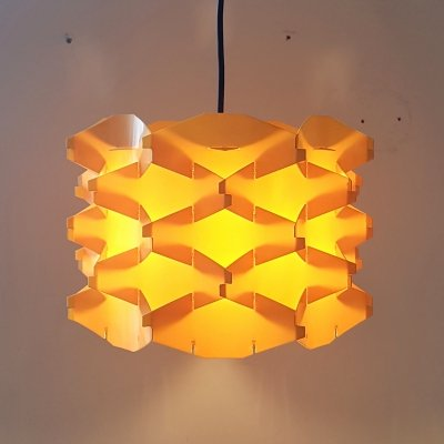 Space age 'Cosmo' pendant lamp by Flemming Brylle & Preben Jacobsen, Denmark 1960s