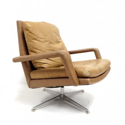 2 x Vintage swivel chair by Hans Kaufeld, 1960s