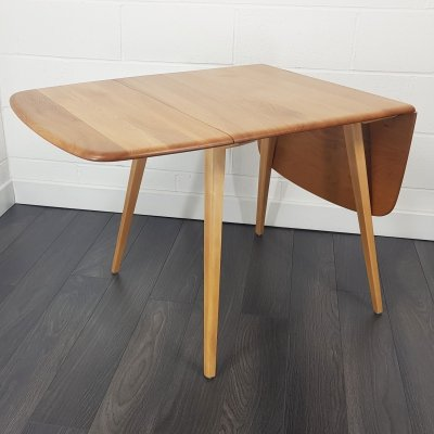 Mid Century Drop Leaf Dining Table by Lucian Ercolani for Ercol, 1960s