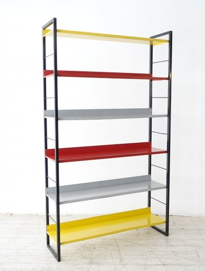 Rare XXL series Free standing bookcase by Tomado Holland