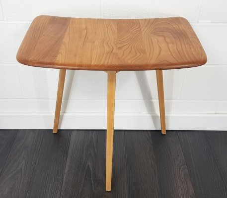 Ercol Extension Table designed to fit against Ercol plank tables