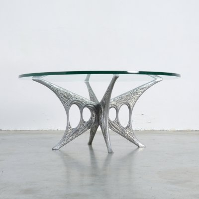 Sculptural Coffee Table by Willy Ceysens