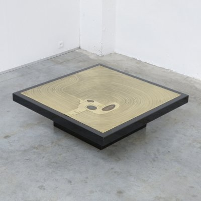 Exclusive Coffee Table by Jean-Claude Dresse