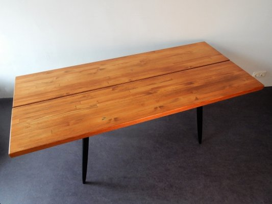'Pirkka' dining table by Ilmari Tapiovaara for Laukaan Puu, Finland 1950's