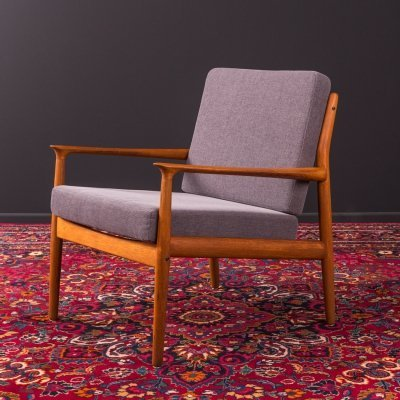Armchair by Grete Jack for Glostrup, Denmark 1960s