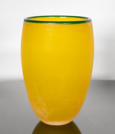 Vase by Franco Moretti for Murano, 1980s