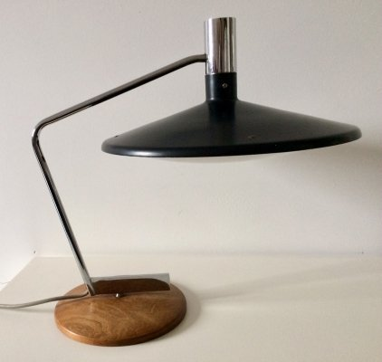 Rare Midcentury Desk Lamp with Turning base by Georges Frydman, Germany 1960's