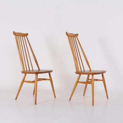 2 Goldsmith chairs by Ercol