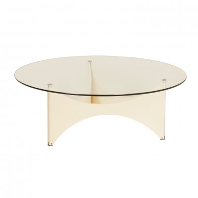 Round Coffee table by Werner Blaser for 't Spectrum, 1960s