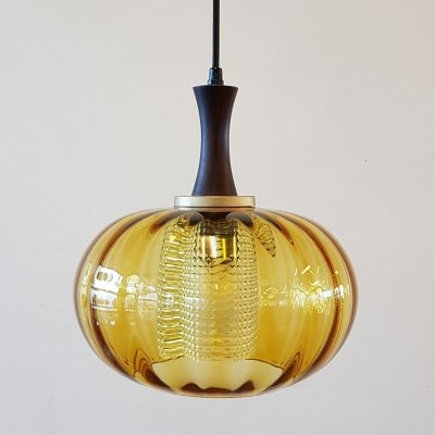 Orrefors pendant by Carl Fagerlund, 1970s
