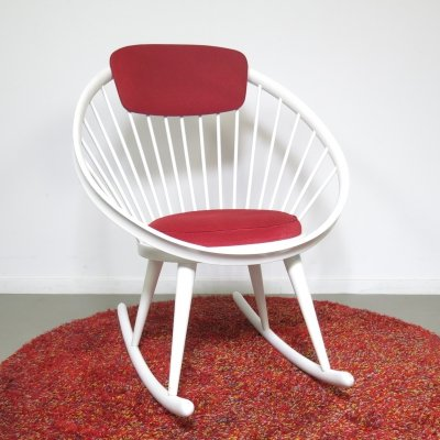 Rocking chair by Yngve Ekström for Swedese, 1960s