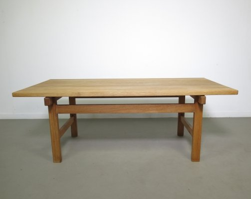 Oak coffee table by Hans Wegner for Andreas Tuck, 1970s