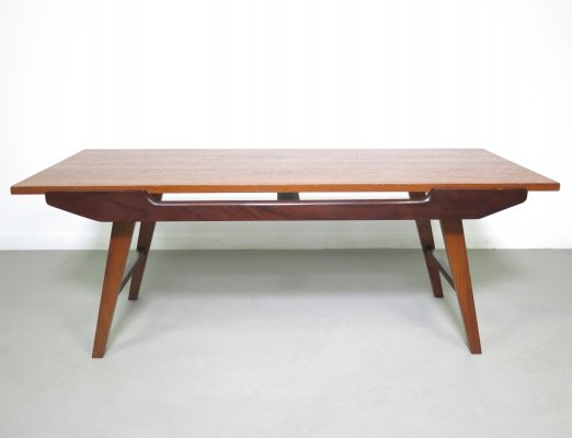Coffee table with reversible top, 1950s