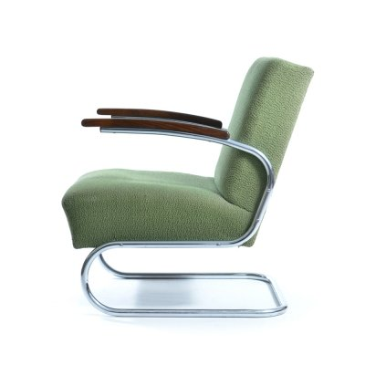 Iconic S411 armchair by Mücke Melder, 1932