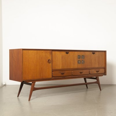 Teak Buffet by Louis van Teeffelen for Webe