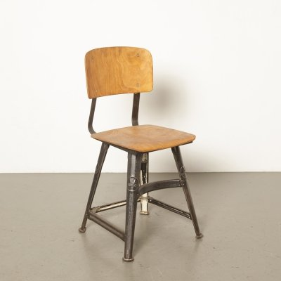 4-legged stool by Rowac, 1930s