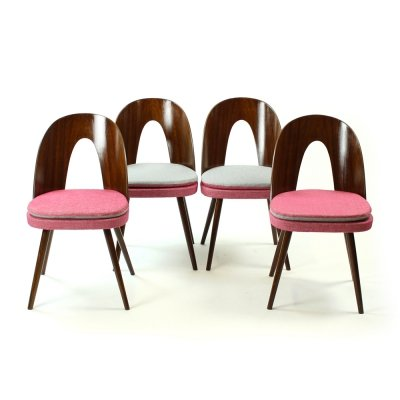 Set of 4 Tatra Chairs by Antonin Suman, Czechoslovakia, 1960s