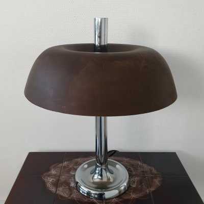 Vintage mushroom table lamp model 7377 by Egon Hillebrand