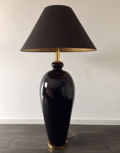 Midcentury Design Hollywood Regency Oversized Floor Lamp, 1970's