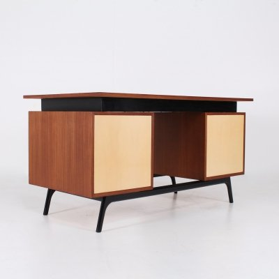 Belgian modernist desk, 1950s