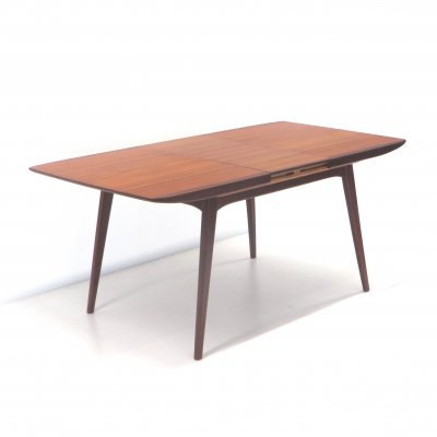 Vintage extendable dining table by Louis van Teeffelen for Wébé