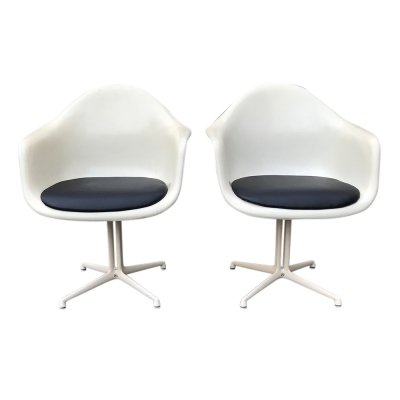 Pair of DAL La Fonda armchairs by Charles & Ray Eames for Herman Miller, 1970s