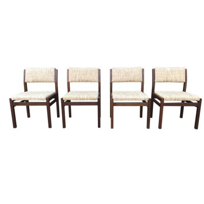 Set of 4 SA07 Japanese series dining chair by Cees Braakman for Pastoe 1960s, set of 4