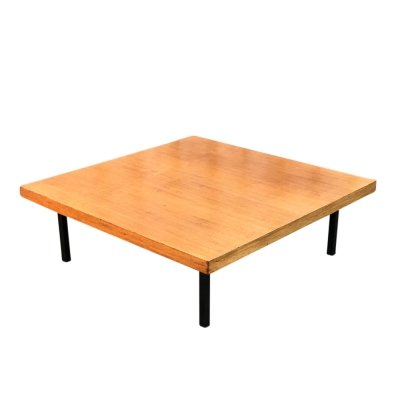 Model 1845 teak coffee table by Kho Liang Ie for Artifort, 1960s