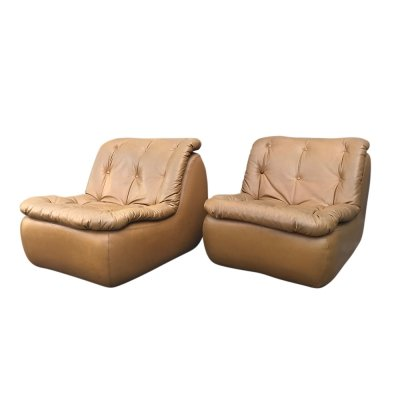 Pair of Lounge chairs by Michel Cadestin for Airborne International, 1970s