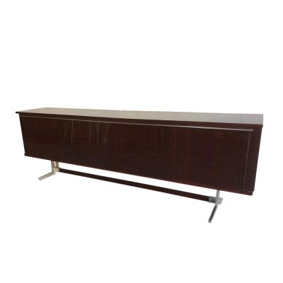 Large Mahogany Sideboard by Alfred Hendrickx for Belform, 1960s