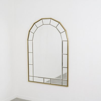 Large faceted mirror in Hollywood regency style, 1960/1970