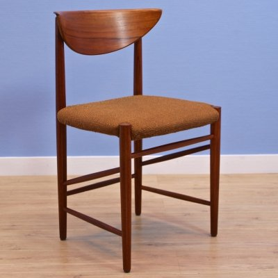Danish dining chair in teak by Peter Hvidt & Orla Mølgaard Nielsen, 1960s