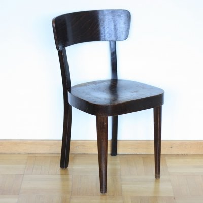 Dining chair produced by Fischel, Czechoslovakia 1940s