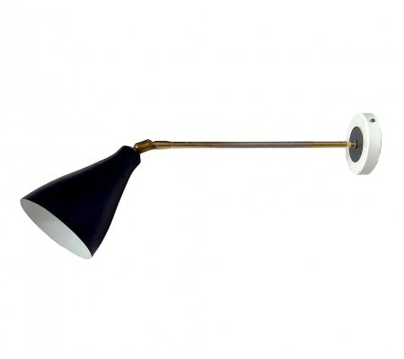 French Articulated Arm Lamp, 1950s