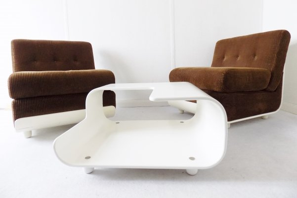 Italian Lounge Chair set / table, 1960s