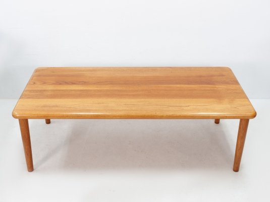 Solid teak coffee table by Glostrup Møbelfabrik, 1960s