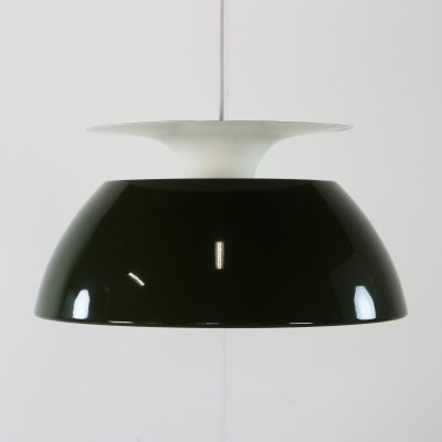 Jutlandia hanging lamp by Jørgen Høj for Holmegaard, 1970s