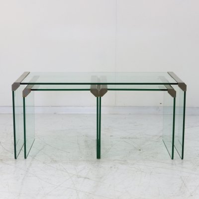 Nesting table by Pierangelo Gallotti for Gallotti & Radice, 1970s