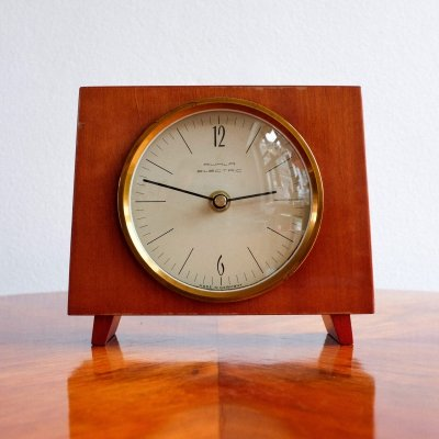 Electric clock by Ruhla, 1970s