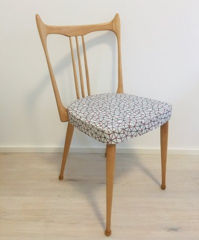 Set of 4 dining chairs by Stevens