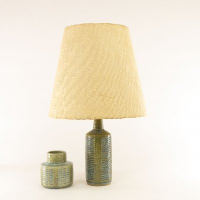 Green & blue Palshus table lamp model DL/30 by Per Linnemann-Schmidt